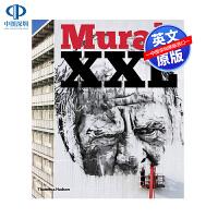 英文原版 Mural XXL 大型壁画精装艺术书 关注涂鸦和街头艺术新趋势的书 画册