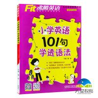 2020版Fit沸腾英语小学英语101句学透语法 名校教师推荐各版本适用 小学英语语法101句含光盘978751354