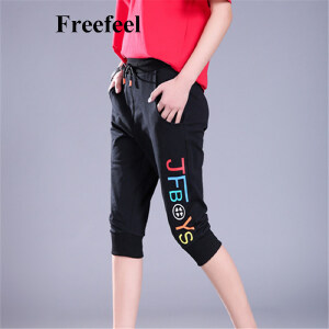 Freefeel 2017新款运动裤韩版五分裤时尚滑板裤