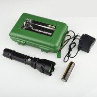 LED户外强光手电筒可充电超亮聚光远射多功能迷你家用T6
