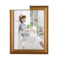 艾欧唯 欧式实木相框10寸16寸 20寸24寸A3 A4婚纱照片框摆台挂墙定制画框