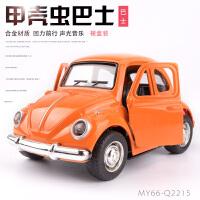 合金回力小汽车模型迷你回力车儿童玩具汽车男孩小车3岁