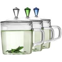 [当当自营]Vatiri 迷你纯真年代两只装手工耐热玻璃杯120ml绿/蓝/白三色任选 VC0011