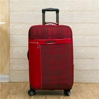 商务拉杆箱万向轮行李箱24英寸帆布旅行箱20登机箱男女密码箱包皮箱