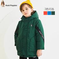 【3件3折价:209.7元】暇步士儿童冬季新款时尚保暖舒适棉服中大童简洁棉服