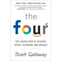 现货 The Four (OF-EXP)英文原版: The Hidden DNA of Amazon, Apple, F
