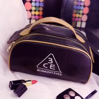 女化妆包韩国大号手提便携旅行防水大容量化妆品收纳洗漱包