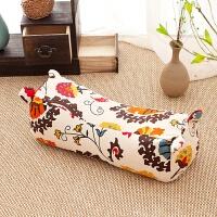 传统老粗布虎头枕单人枕头枕芯荞麦枕头颈椎枕儿童枕头大枕头