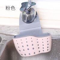 厨房沥水篮水槽挂篮置物架收纳挂袋创意水龙头挂架塑料