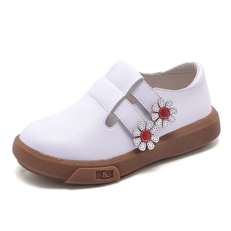 女童皮鞋儿童小公主鞋子女孩2018新款秋鞋冬红黑白色软底单鞋 发货周期:一般在付款后2-90天左右发货,具体发货时间请以与客服协商的时间为准