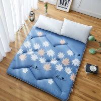 宿舍床垫1.2m床褥子0.9m垫被床护垫打地铺睡垫单双人折叠学生1.5