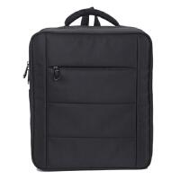 大疆精灵4pro+背包 双肩包DJI PHANTOM 3/4/pro无人机箱包帆布包SN7 P4高配版便携背包(黑色