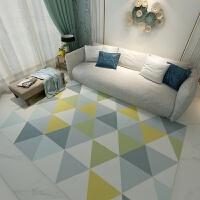 北欧简约现代家用客厅地毯卧室满铺房间榻榻米沙发茶几垫可爱几何