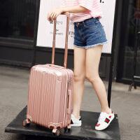 行李箱拉杆箱女韩版小清新皮箱24密码20寸万向轮大学生旅行箱个性