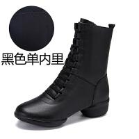水兵舞鞋软底新款中跟广场舞鞋女水兵舞靴子跳舞鞋女鞋舞蹈鞋