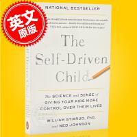 预售 如何让孩子更有自我驱动力 自我驱动的孩子 英文原版 The Self-Driven Child 一本务实的关于如