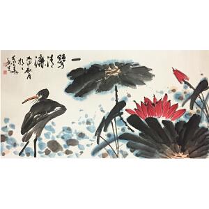 杨新生《一路清廉》著名画家