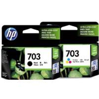 惠普原装正品 hp 703 喷墨打印机一体机黑色彩色墨盒 HP703黑色墨盒 HP703彩色墨盒 HP Deskjet