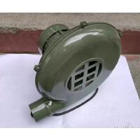 鼓风机家用小型鼓风机 家用鼓风机220V炉灶 鼓风机 烧烤助燃 青色 250w