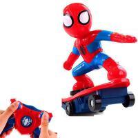 ?遥控电动新款蜘蛛侠会跑的特技翻斗车男孩抖音翻滚车摔不倒玩具?