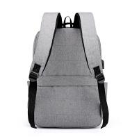 双肩包男简约大容量大学生书包女时尚休闲旅行14寸15寸电脑背包