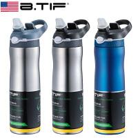 BTIF带吸管保温杯大人成人男户外运动水杯大容量健身水壶杯子便携