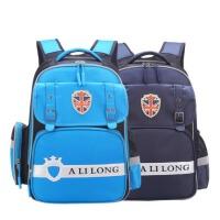 新款英��款�和���包小�W生1-3-6年��o脊�p�男女孩大容量�p肩�n版背包
