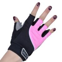健身手套男女夏季透气器械训练运动护腕半指动感单车防滑锻炼装备