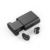 优品 蓝牙耳机迷你无线耳塞运动跑步车载通用 适用于vivo NEX/X21/X9s 酷黑色 官方标配