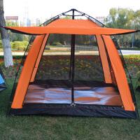自动帐篷户外3-4人家庭防雨野营露营超大多人野外全自动帐篷