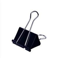 晨光文具 筒装黑色长尾夹 办公用品 ABS91662宽15mm ABS91663宽19MM ABS91664宽25MM