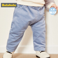 巴拉巴拉宝宝冬装男新款婴儿裤子男童长裤儿童打底裤韩版PP裤