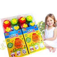 纷多乐手指画颜料5色10色儿童食用级涂鸦绘画安全无毒幼儿园美工儿童创意手指涂鸦益智绘画工具 5色装 图案随机发货