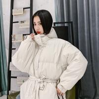 冬季新款加厚羽绒棉衣女装短款宽松韩版面包服连帽棉袄外套潮
