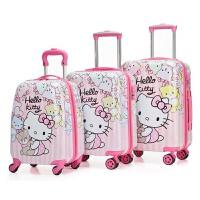 儿童拉杆箱20寸卡通旅行箱万向轮学生行李箱宝宝拖箱凯蒂猫登机箱 *