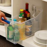 【领券+满减】ORZ 新加坡制带轮厨卫收纳篮 多用途储物箱调味用品收纳篮