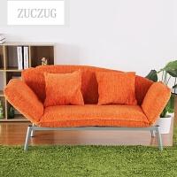 ZUCZUG懒人沙发 休闲沙发椅卧室双人沙发 日式懒人椅可折叠沙发床