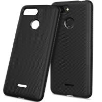 红米6手机壳 经典斜纹TPU保护套小米 redmi 6 防摔 防指纹手机套