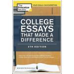 【现货】英文原版 美国大学入学申请文书写作 College Essays That Made a Difference