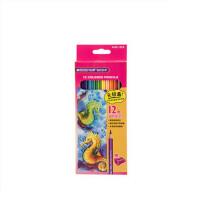 马可36 24 12色油性彩色铅笔 马可彩铅4100秘密填色花园