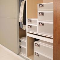 抽屉式收纳柜子塑料衣柜收纳盒衣服收纳箱多层加厚儿童储物柜鞋柜