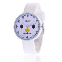 韩版果冻儿童手表女孩小猪卡通可爱软妹学生小清新手表