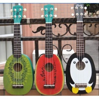 21寸尤克里里 Ukulele 夏威夷四弦小吉他 企鹅 西瓜 猕猴桃a284