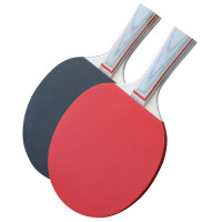 乒乓球拍双拍实木底板成品拍耐磨胶皮初学者儿童中小学生训练球拍