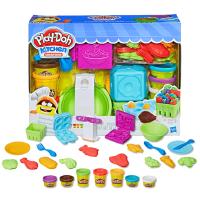培乐多创意安全无毒橡皮泥玩具儿童节礼物厨房超市买买乐彩泥套装