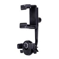 车载手机配件支架导航后视镜卡扣式旋转安装行车记录仪可调节夹子 后视镜车载支架-H01