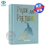 英文原版 Pride and Prejudice 傲慢与偏见 简・奥斯汀 精装 世界经典儿童文学小说 Wordswort