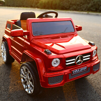 越野儿童电动车四轮童车可摇摆坐人双驱动宝宝玩具电瓶汽车带遥控TDD 烤漆红 所有功能+车身烤漆+皮座