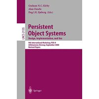【预订】Persistent Object Systems: 9th International Workshop,