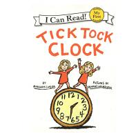 英文原版 Tick Tock Clock 滴答滴答的小闹钟 [平装] [4-8岁]